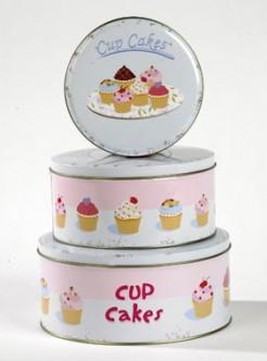 Cupcake round boxes