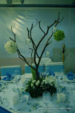 Turquoise wedding deco