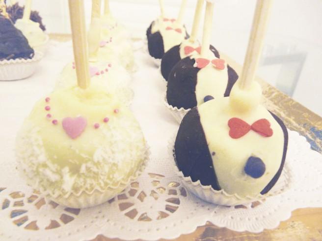 Wedding pop cakes 2