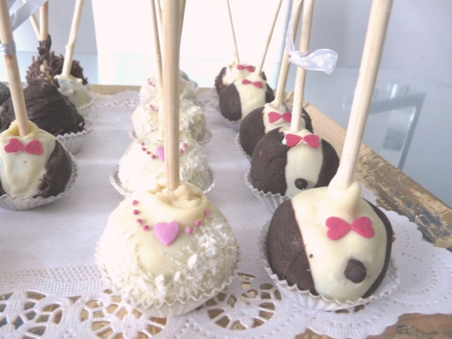 Wedding pop cakes Luxembourg