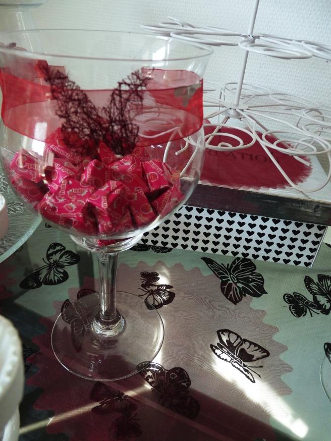 Burgundy Candy bar