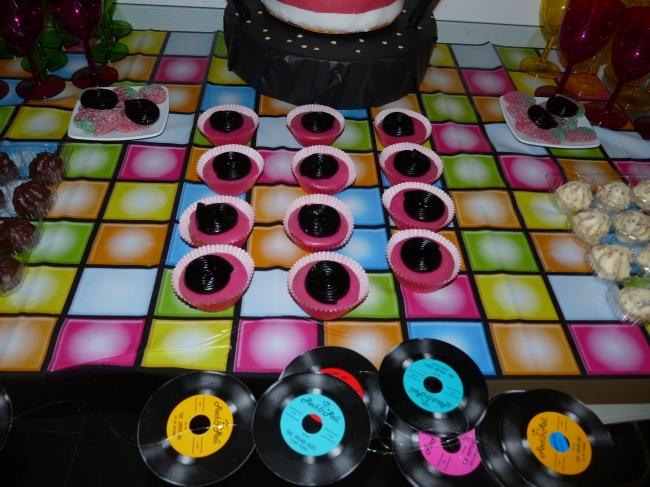 karaoke party cupcakes