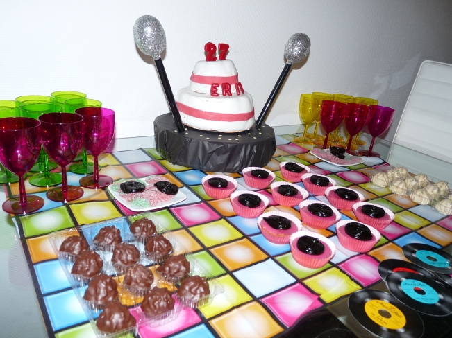 karaoke party candy bar