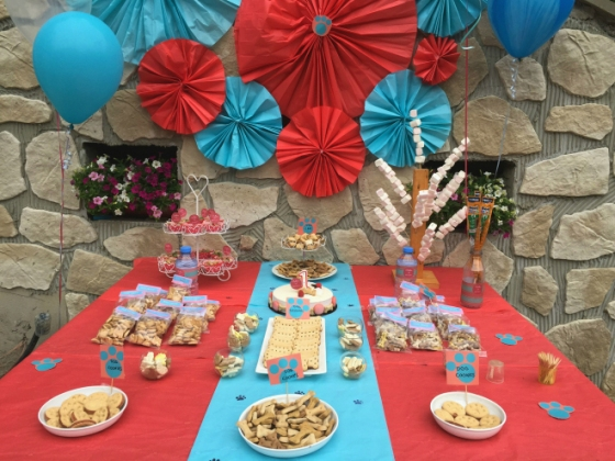 Dog Party Candy Bar